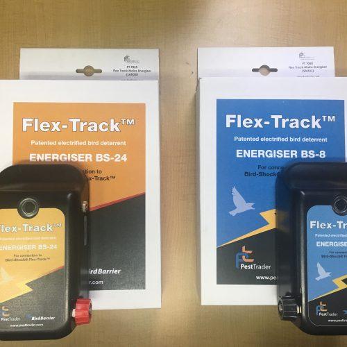Flex Track™ Mains Energisers