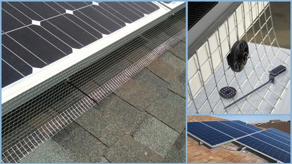 Solar Panel Clips Pest Trader